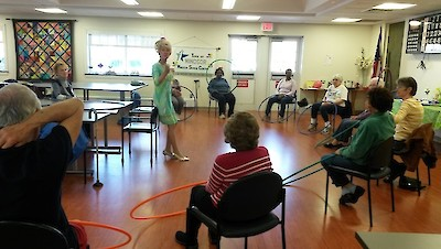 iCare Health Network, Touchpoints Rehab, Hula Hoop, Skilled Nursing and Rehabilitation