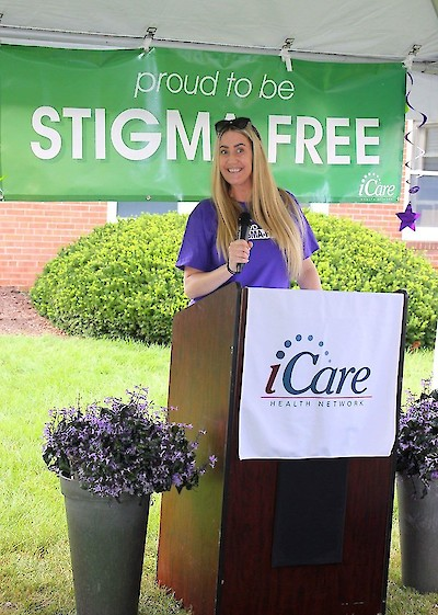 iCare Health Network, Sarah Howroyd, Stigma-Free, NAMI, Touchpoints Rehab